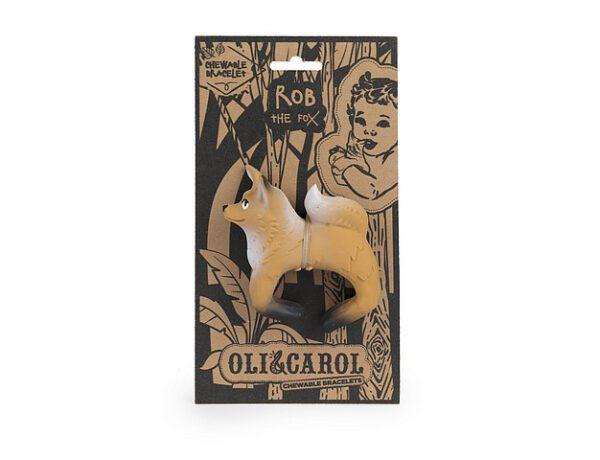 Oli-and-Carol-Bad-en-Bijtspeeltje-Rob-the-Fox-Vos-Armband